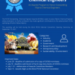 Search for 2021 Outstanding Chemical Engineers
