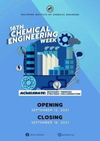 16th Chemical Engineering Week